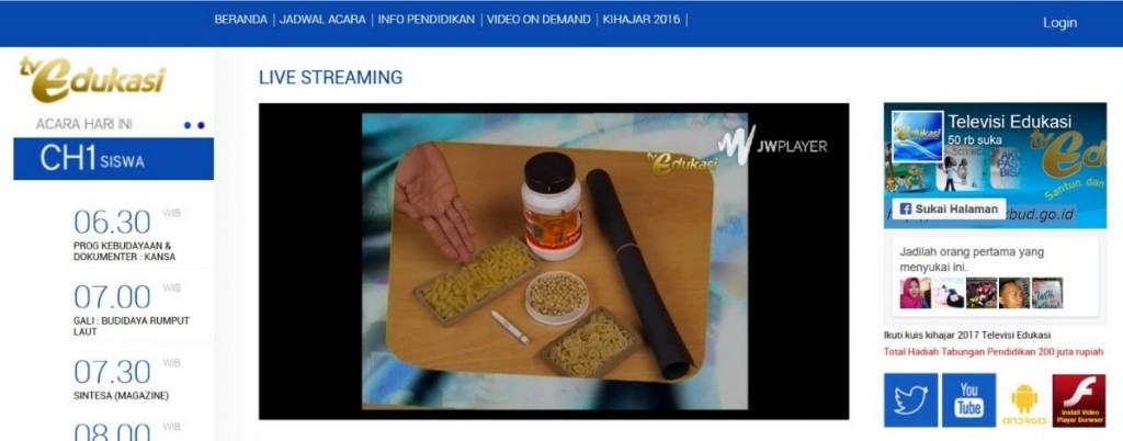 portal streaming tve