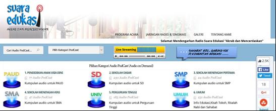 portal suara edukasi